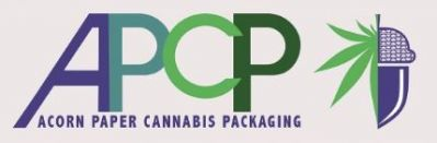 Acorn Paper Cannabis Packaging