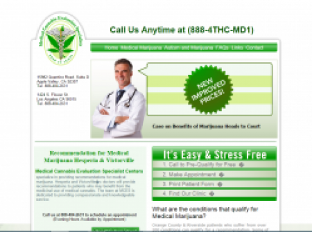 Medical Cannabis Evaluation Specialist