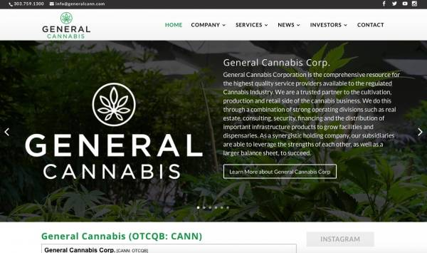 General Cannabis Corporation