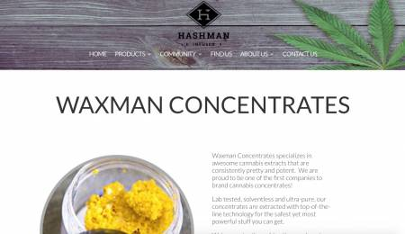 Waxman Concentrates